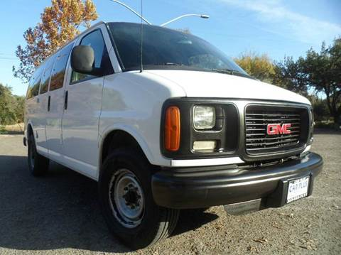 2000 GMC Savana Cargo for sale at CAR PLUS in Modesto CA