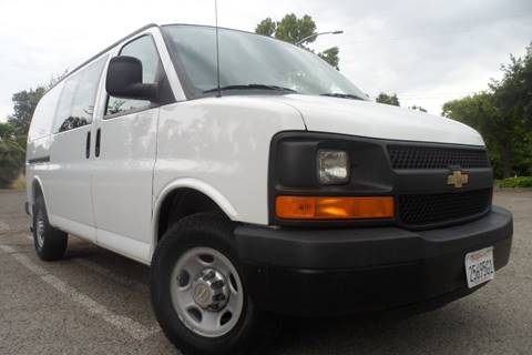 2012 Chevrolet Express Cargo for sale at CAR PLUS in Modesto CA