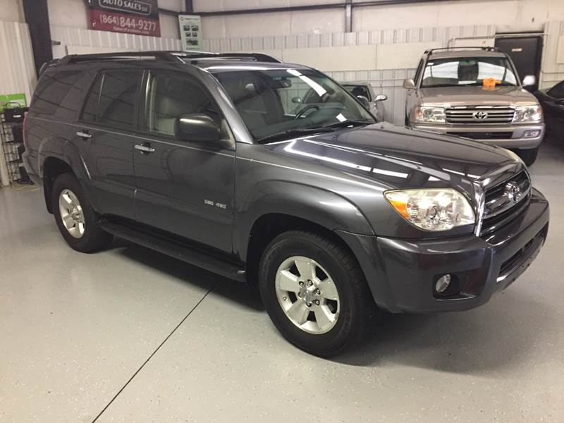 2006 Toyota 4runner Sr5 4dr Suv 4wd W V8 In Anderson Sc Times Past
