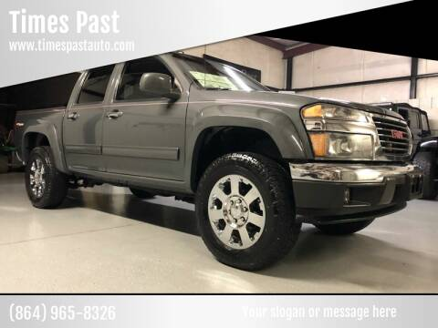 gmc canyon for sale in anderson sc times past times past
