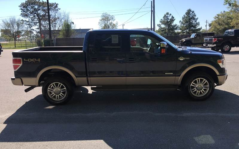 2014 Ford F-150 4x4 King Ranch 4dr SuperCrew Styleside 5.5 ...