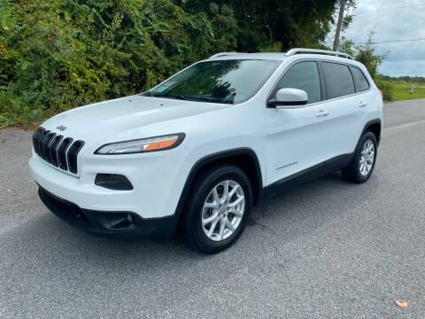 2014 Jeep Cherokee for sale at Autoteam of Valdosta in Valdosta GA