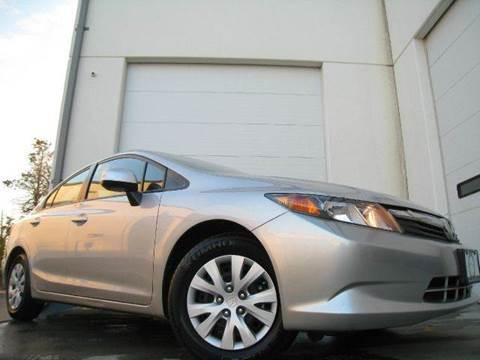 2012 Honda Civic for sale at Chantilly Auto Sales in Chantilly VA