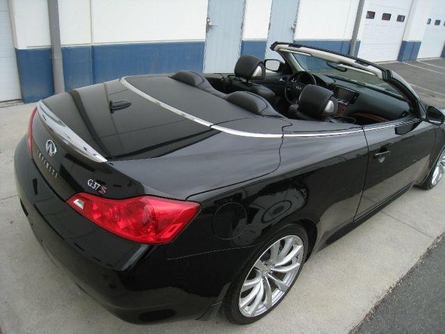 2009 Infiniti G37 Convertible Sport 2dr Convertibleblack On Black