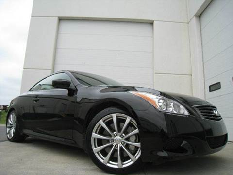 2009 Infiniti G37 Convertible for sale at Chantilly Auto Sales in Chantilly VA