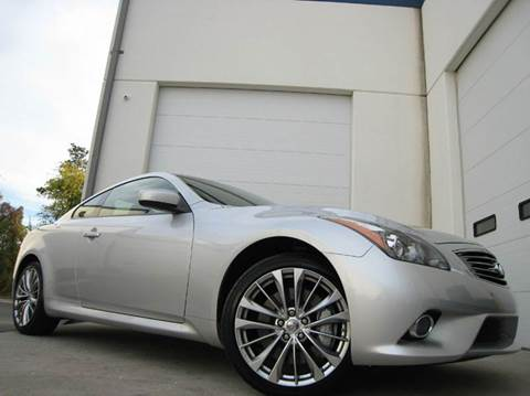 2012 Infiniti G37 Coupe for sale at Chantilly Auto Sales in Chantilly VA
