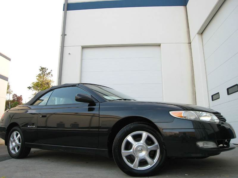 2002 Toyota Camry Solara for sale at Chantilly Auto Sales in Chantilly VA