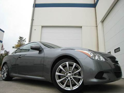 2010 Infiniti G37 Coupe for sale at Chantilly Auto Sales in Chantilly VA