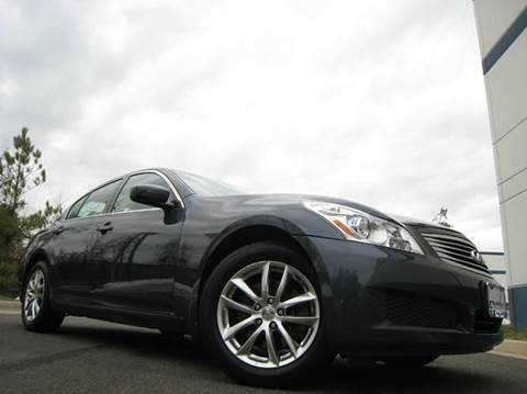 2009 Infiniti G37 Sedan for sale at Chantilly Auto Sales in Chantilly VA