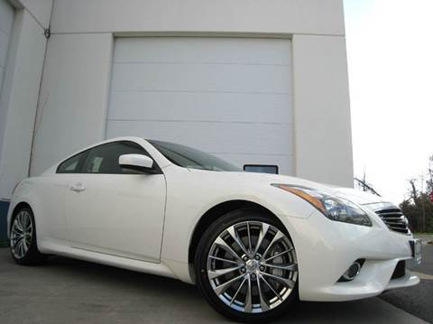 2013 Infiniti G37 Coupe for sale at Chantilly Auto Sales in Chantilly VA