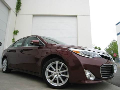 2014 Toyota Avalon for sale at Chantilly Auto Sales in Chantilly VA