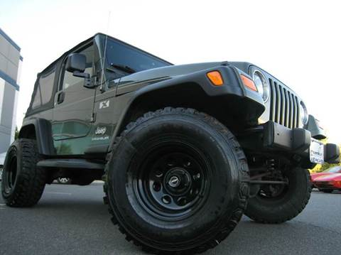 2006 Jeep Wrangler for sale at Chantilly Auto Sales in Chantilly VA