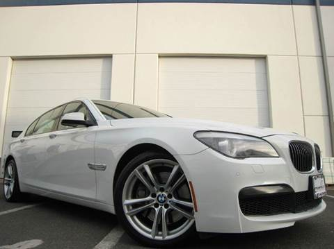 2011 BMW 7 Series for sale at Chantilly Auto Sales in Chantilly VA