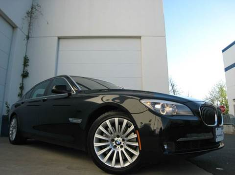2009 BMW 7 Series for sale at Chantilly Auto Sales in Chantilly VA