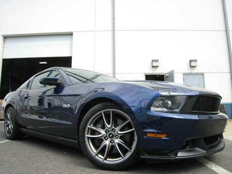 2011 Ford Mustang for sale at Chantilly Auto Sales in Chantilly VA
