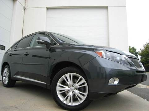2010 Lexus RX 450h for sale at Chantilly Auto Sales in Chantilly VA
