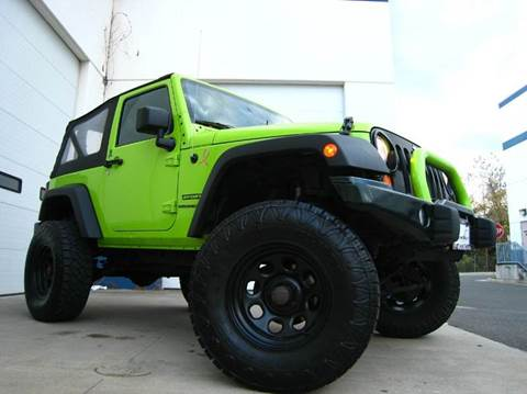 2012 Jeep Wrangler for sale at Chantilly Auto Sales in Chantilly VA