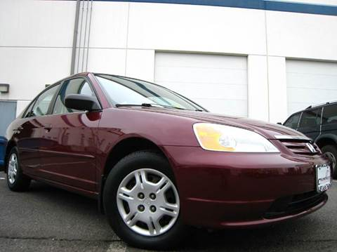 2002 Honda Civic for sale at Chantilly Auto Sales in Chantilly VA