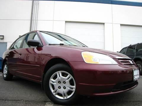 2002 Honda Civic for sale at Chantilly Auto Sales in Chantilly VA