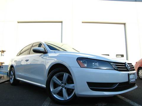 2012 Volkswagen Passat for sale at Chantilly Auto Sales in Chantilly VA