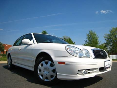 2004 Hyundai Sonata for sale at Chantilly Auto Sales in Chantilly VA