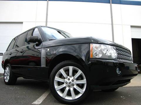2008 Land Rover Range Rover for sale at Chantilly Auto Sales in Chantilly VA