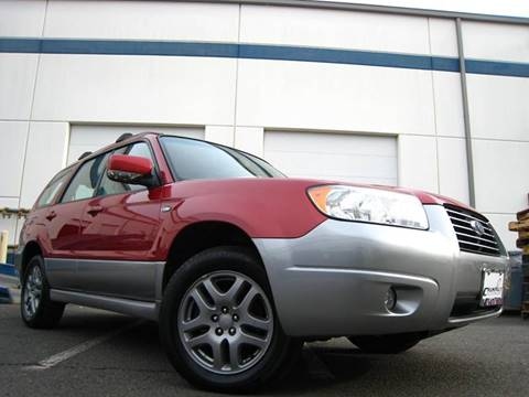 2008 Subaru Forester for sale at Chantilly Auto Sales in Chantilly VA