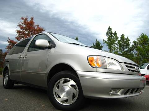 2001 Toyota Sienna for sale at Chantilly Auto Sales in Chantilly VA
