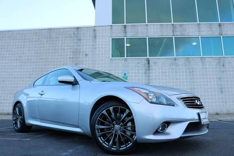 G37 Coupe For Sale >> Infiniti G37 Coupe For Sale In Chantilly Va Chantilly