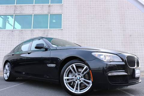 2012 BMW 7 Series for sale at Chantilly Auto Sales in Chantilly VA