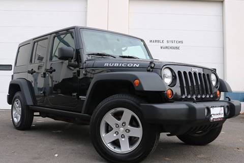 2011 Jeep Wrangler Unlimited for sale at Chantilly Auto Sales in Chantilly VA
