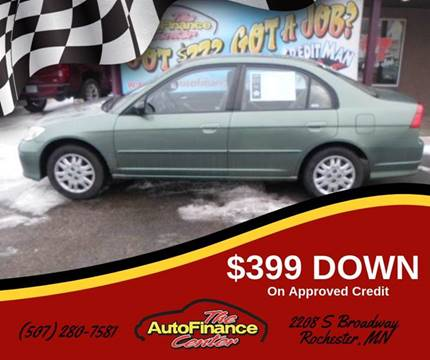 2004 Honda Civic for sale in Rochester, MN