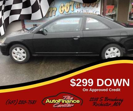 2001 Honda Civic for sale in Rochester, MN