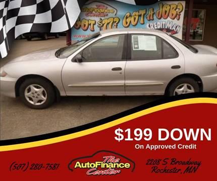 Auto Finance Center >> The Autofinance Center Car Dealer In Rochester Mn