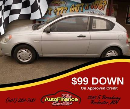 2008 Hyundai Accent for sale in Rochester, MN