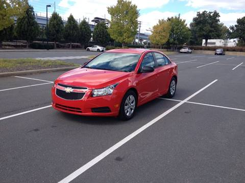 2014 Chevrolet Cruze for sale in Charlotte, NC