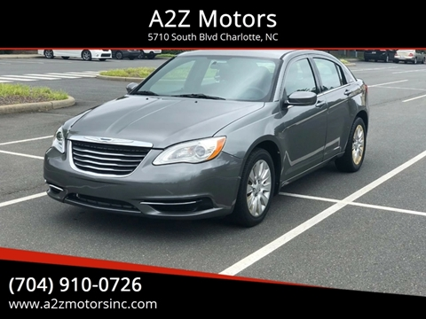2012 Chrysler 200 for sale in Charlotte, NC