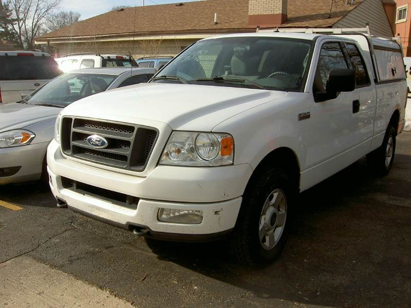 2004 Ford F-150 4dr SuperCab STX 4WD Styleside 6.5 ft. SB - Dearborn Heights MI