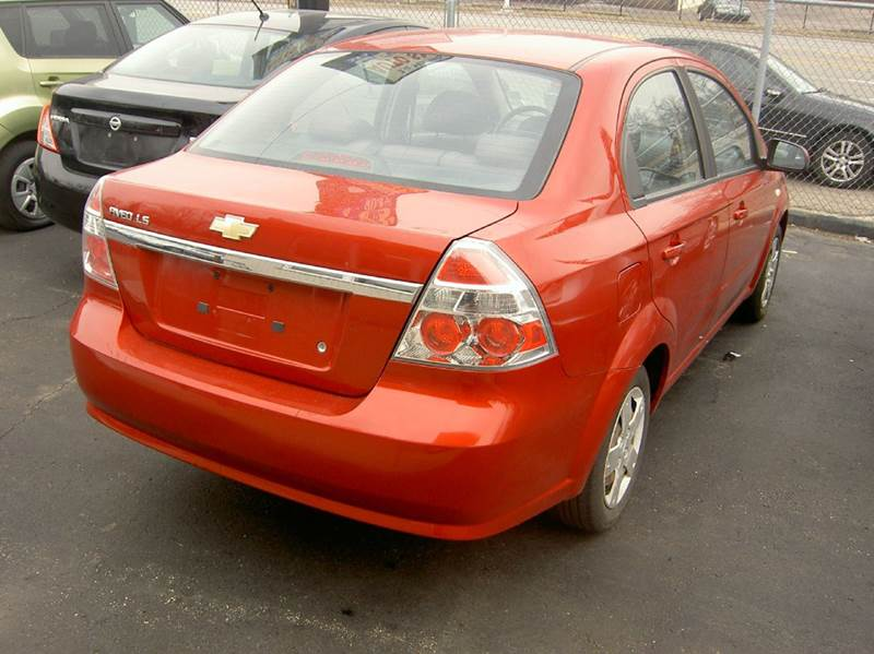 2008 Chevrolet Aveo LS 4dr Sedan - Dearborn Heights MI