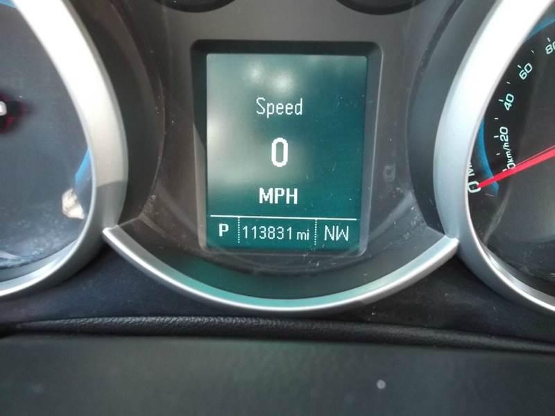 2012 Chevrolet Cruze LT 4dr Sedan w/1LT - Dearborn Heights MI