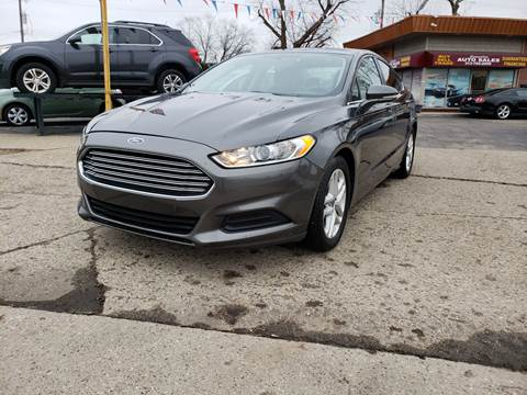 ford fusion for sale in dearborn heights mi. Black Bedroom Furniture Sets. Home Design Ideas