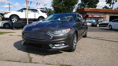 2017 Ford Fusion for sale in Dearborn Heights, MI