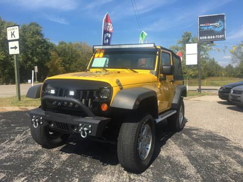 2008 Jeep Wrangler for sale at Hwy 13 Motors in Wisconsin Dells WI