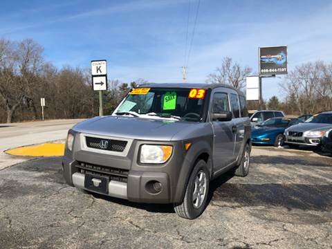 2003 Honda Element for sale at Hwy 13 Motors in Wisconsin Dells WI