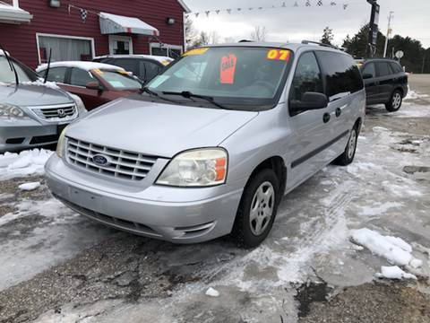 2007 Ford Freestar for sale at Hwy 13 Motors in Wisconsin Dells WI