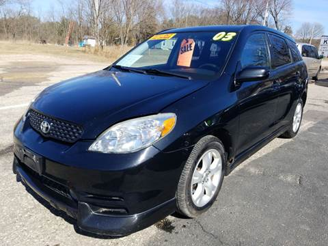 2003 Toyota Matrix XRS for sale at Hwy 13 Motors in Wisconsin Dells WI