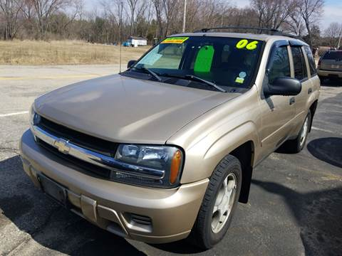 2006 Chevrolet TrailBlazer LS for sale at Hwy 13 Motors in Wisconsin Dells WI
