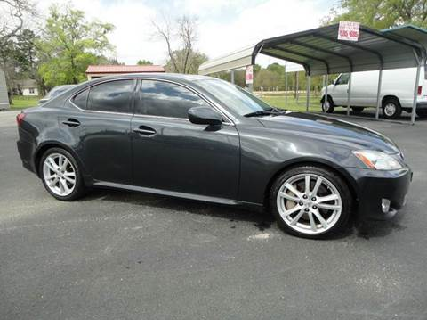 2006 Lexus IS 350 for sale at Preferred Auto Sales in Tyler TX
