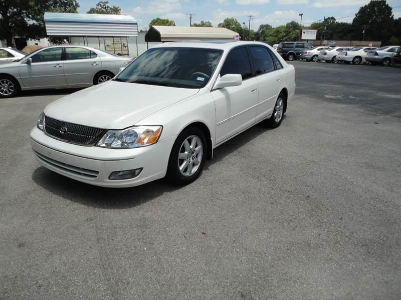 2001 Toyota Avalon XLS 4dr Sedan W/Bucket Seats   Tyler TX