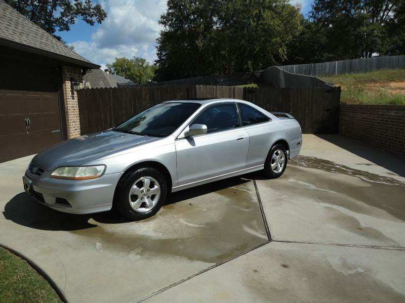 2001 Honda Accord EX W/Leather 2dr Coupe W/Leather   Tyler TX